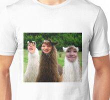 Zabwag llamas Unisex T-Shirt
