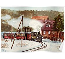 Harz Mountains Narrow Gauge Railway Poster