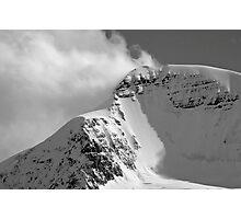 Alpine winds Photographic Print