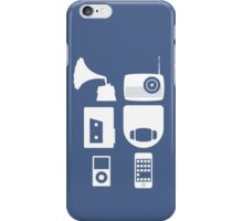 The History Of Portable Music Devices in Six Easy Steps iPhone Case/Skin