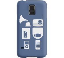 The History Of Portable Music Devices in Six Easy Steps Samsung Galaxy Case/Skin