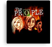 "The Prople: ""The Return"" Canvas Print"