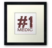Medic Mug Design Framed Print
