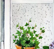 Rain on my Window Pane by RainbowDesign