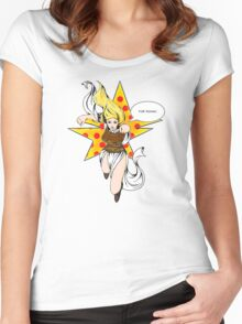 Super Eowyn! Women's Fitted Scoop T-Shirt