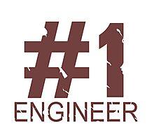Engineer Mug Design Photographic Print
