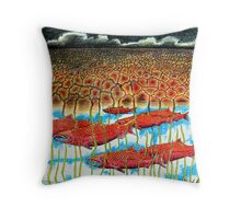 Fish Dream Throw Pillow