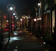 Winter Spring Street by Russell Anderson