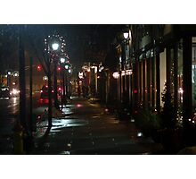 Winter Spring Street Photographic Print