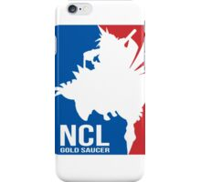 Gold Saucer's NCL!! - National Chocobo League iPhone Case/Skin
