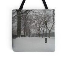 Brooklyn Snowstorm Tote Bag