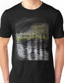 Marina Bay Sands - The nght glitters Unisex T-Shirt