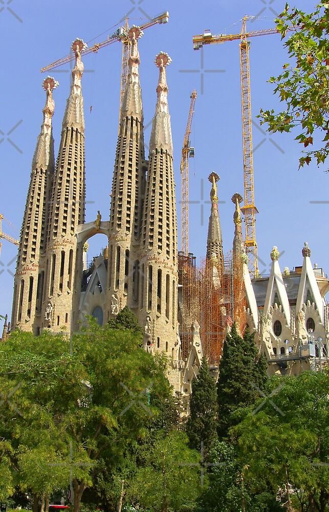 Sagrada Familia by Tom Gomez