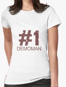 Demoman Mug Design  Womens Fitted T-Shirt