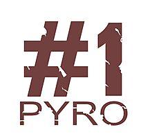 Pyro Mug Design Photographic Print