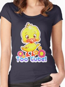 Lil' Chick Women's Fitted Scoop T-Shirt