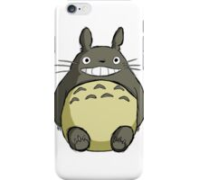 Totoro (shaded) iPhone Case/Skin