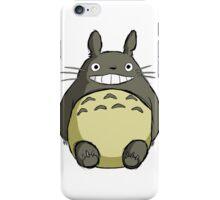 Totoro (shaded) iPhone Case/Skin