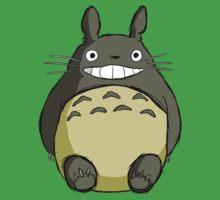 Totoro (shaded) One Piece - Short Sleeve
