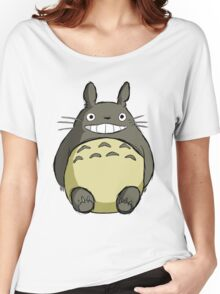 Totoro (shaded) Women's Relaxed Fit T-Shirt