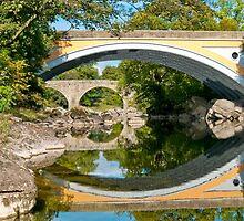 Bridges cross the Lune by Stephen Knowles