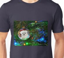 Snowdrop the Maltese - Oh, Christmas Tree Unisex T-Shirt