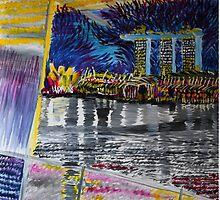 Marina Bay Sands - flurry by Meng Foo Choo