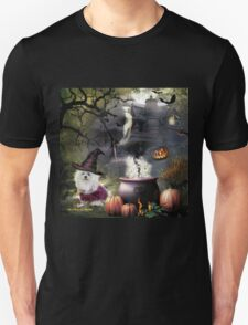 Snowdrop the Maltese - Hubble Bubble at Halloween ! T-Shirt