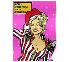 Merry Christmas Dolly Knockers! Poster