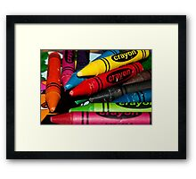 0980 Who needs a playstation ? Framed Print