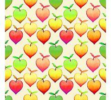 Peach Love Photographic Print