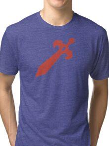 Fire Emblem Symbol - Super Smash Bros. (color) Tri-blend T-Shirt