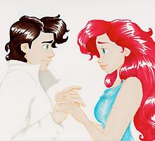 Eric and Ariel together by HollieBallard