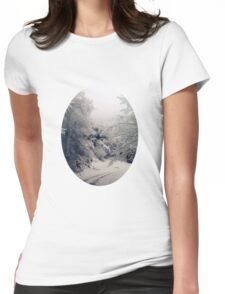 White the fading forests grow Womens Fitted T-Shirt