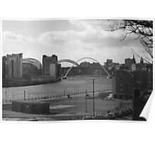 Four Bridges Sage Baltic and Tyne Poster