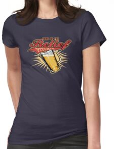 Send In The Relief Pitcher Womens Fitted T-Shirt