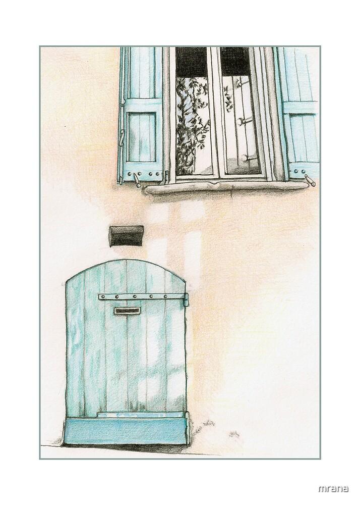 Small Blue Door by Mariana Musa