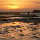 Poole Bay Sunset Au Naturel by qshaq