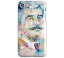 WILLIAM FAULKNER - watercolor portrait iPhone Case/Skin