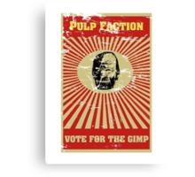 Pulp Faction - The Gimp Canvas Print