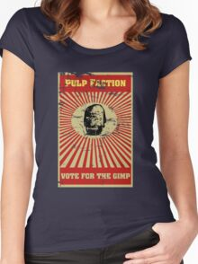 Pulp Faction - The Gimp Women's Fitted Scoop T-Shirt
