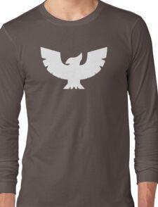 Captain Falcon Symbol - Super Smash Bros. (white) Long Sleeve T-Shirt