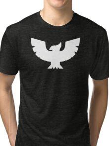 Captain Falcon Symbol - Super Smash Bros. (white) Tri-blend T-Shirt
