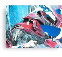 Red Headed Bird cartoon Canvas Print
