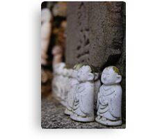 Japanese little budda Canvas Print
