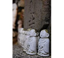 Japanese little budda Photographic Print
