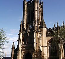 Manchester Cathedral by Mrsomsartist