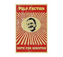 Pulp Faction - Winston Photographic Print