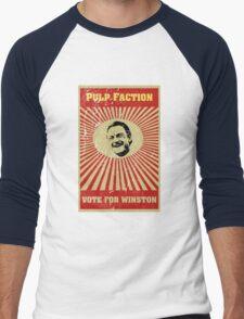 Pulp Faction - Winston Men's Baseball ¾ T-Shirt