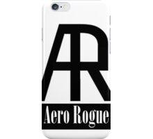 Aero Rogue (Logo & Name) iPhone Case/Skin